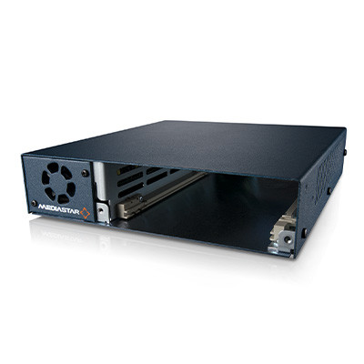 MediaStar Single Slot Appliance Chassis with Integral Power Supply (769)