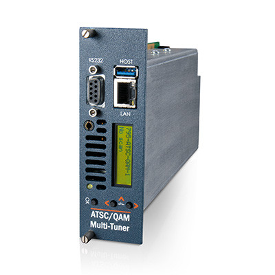 MediaStar Multi-Tuner ATSC / QAM LAN-Caster Gateway for Digital Terrestrial / CATV Re-Broadcast over IP (795)
