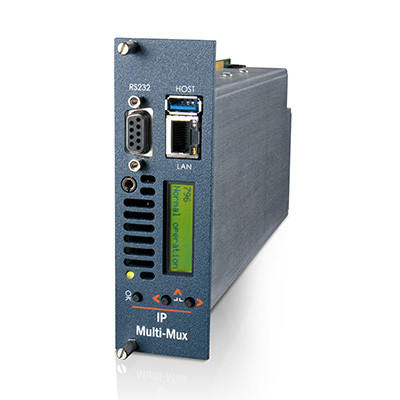 MediaStar IP Multi-Mux Gateway for Multi-Channel Transport Stream Reception & Re-transmission (796)