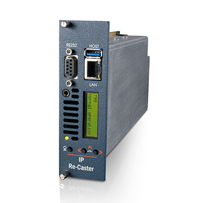 MediaStar IP Re-Caster Gateway for Multicast / Unicast Stream Transport and Conversion (799)