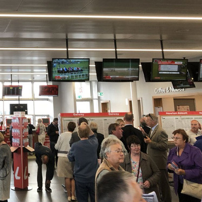 MediaStar Systems Increases the Odds of a Great Day Out at Galway Races Following IPTV and Signage Installation for BallyBrit Race Track