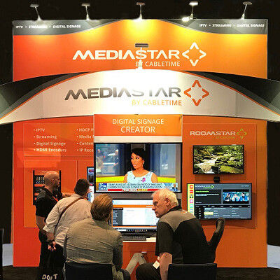 MediaStar Puts Control and Creativity into Digital Signage and Reinforces the Importance of Media Protection and Lower Latency Encoding at Infocomm 2018